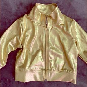 Gold Jacket Competitive Dance Balera MC